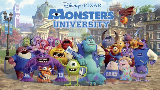 Resultado de imagen de monsters university