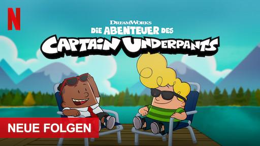 Die Abenteuer Des Captain Underpants Netflix Offizielle