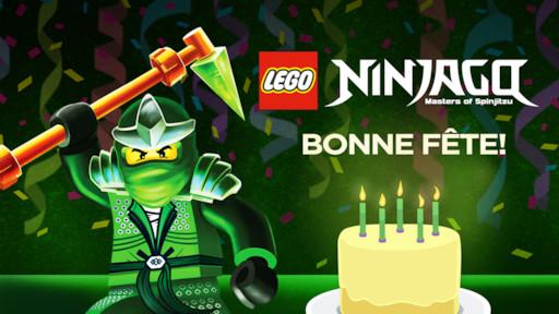 Lego Ninjago Les Maîtres Du Spinjitzu Bonne Fête Netflix