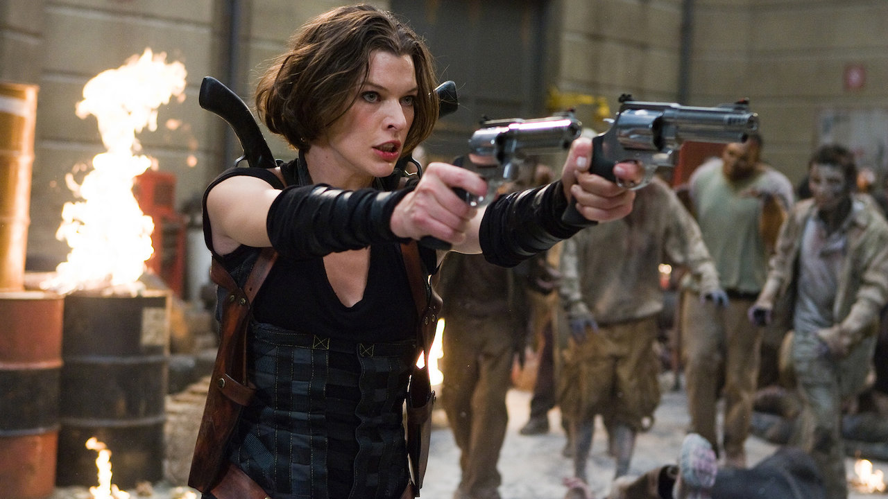 Resident Evil Afterlife Netflix