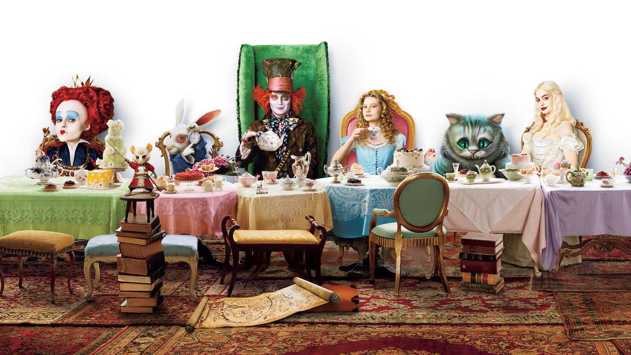Alice Nos Pais Das Maravilhas Filme Online alice in wonderland  netflix