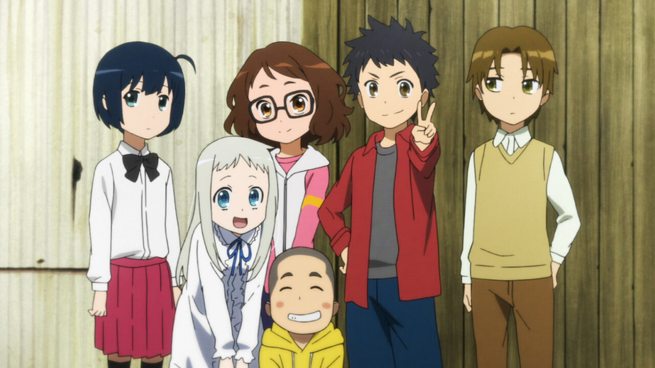 Anohana: The Flower We Saw That Day   Netflix