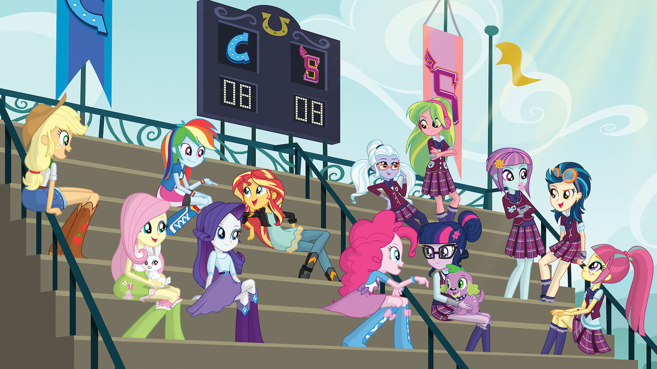 - My Little Pony Equestria Girls: Friendship Games Netflix